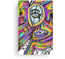 Twisted Reality  Canvas Print