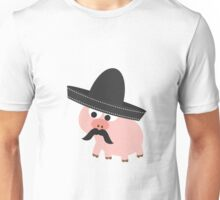 Cerdito Bandito Pig Unisex T-Shirt