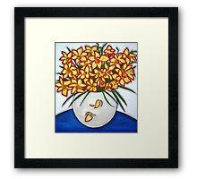 """Mazzo di Narccisi"" Bouquet Of Daffodils Framed Print"