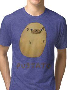 pug tato Tri-blend T-Shirt