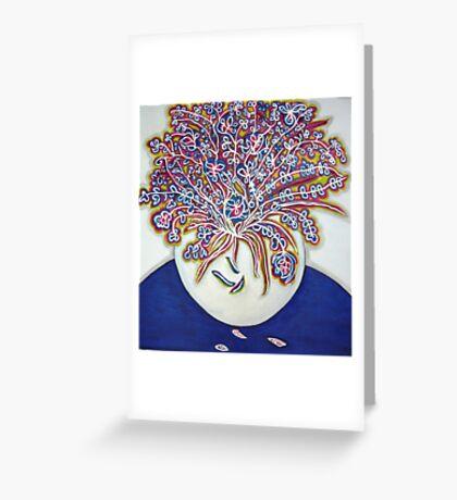 """""""Tripudio di Colori"""" Riot Of Colour Greeting Card"""