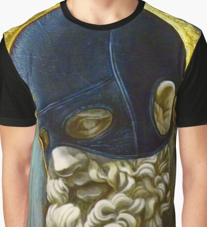 """Masked Hercules"" Graphic T-Shirt"