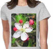 apple blossum treasure Womens Fitted T-Shirt