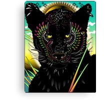 Panther Of Daydreams Canvas Print