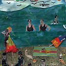 Sur La Plage(On The Beach) by RobynLee