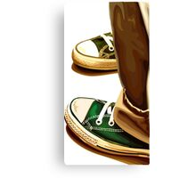 All Star running shoes Canvas Print