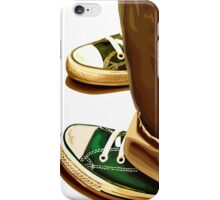 All Star running shoes iPhone Case/Skin
