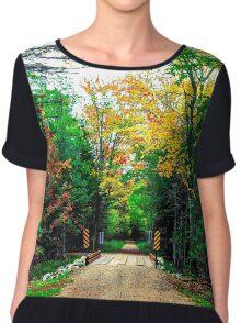 Autumn Bridge Chiffon Top