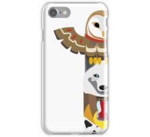 Alaskan Totem Pole iPhone Case/Skin