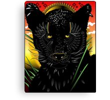 Panther of Daydreams (Alternate) Canvas Print