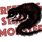 The Creeping Stress Monster by CatAstrophe