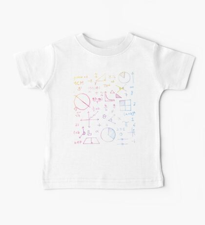 Math formulae (white) Kids Clothes