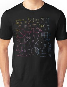Math formulae (watercolor background) T-Shirt