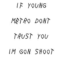 Young Metro Photographic Print