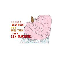 beer belly Photographic Print