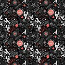 Floral pattern by Tanor
