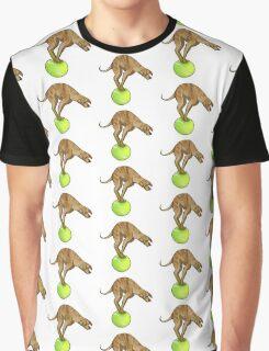 Anxious Dog Graphic T-Shirt