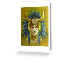 """Theseus"" Greeting Card"