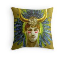 """Theseus"" Throw Pillow"
