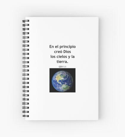 Genesis 1:1 Spiral Notebook