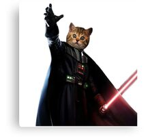 Kitty Darth Vader Starwars [TW] Canvas Print