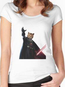 Kitty Darth Vader Starwars [TW] Women's Fitted Scoop T-Shirt