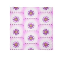 Mothers Day ~ Untamed Floral Mandala ~ Pink and Purple Scarf