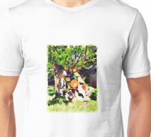 Backyard Vignette Unisex T-Shirt