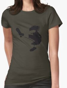 Keep on jumping Womens Fitted T-Shirt