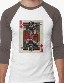 Darth Vader - Playing King Card Men's Baseball ¾ T-Shirt