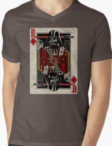 Darth Vader - Playing King Card Mens V-Neck T-Shirt