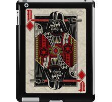 Darth Vader - Playing King Card iPad Case/Skin