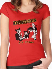 Dingo ate my baby Women's Fitted Scoop T-Shirt