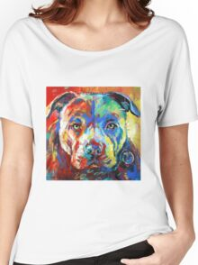 Stafforshire Bull Terrier Women's Relaxed Fit T-Shirt