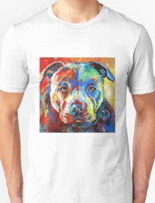 Stafforshire Bull Terrier Unisex T-Shirt