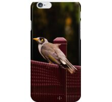 Sitting on the fence iPhone Case/Skin