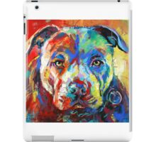 Stafforshire Bull Terrier iPad Case/Skin
