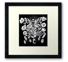 Death Moth Rising Framed Print