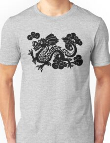 Year of the Luck Dragon (Black Ink)  Unisex T-Shirt