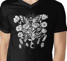 Death Moth Rising Mens V-Neck T-Shirt
