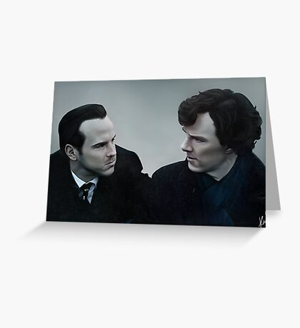We're Just Alike, You and I Greeting Card