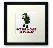 Legend of Zelda - Moves Like Kamaro  Framed Print