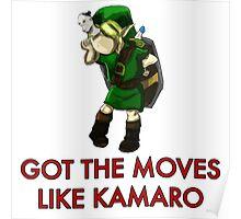 Legend of Zelda - Moves Like Kamaro  Poster