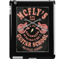 McFly's Guitar School Vintage iPad Case/Skin