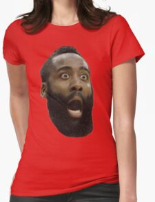 Houston Rockets James Harden  Womens Fitted T-Shirt