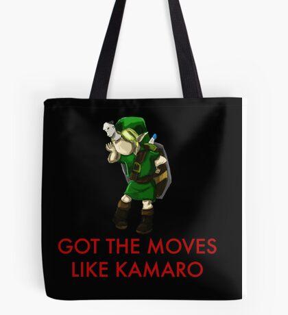 Legend of Zelda - Moves Like Kamaro  Tote Bag