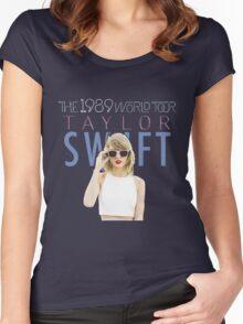 Taylor Swift 2016 Album Concert Tour 11 Women's Fitted Scoop T-Shirt