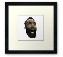 James Harden Framed Print