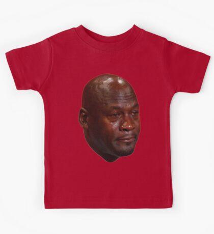 Crying Jordan Kids Tee