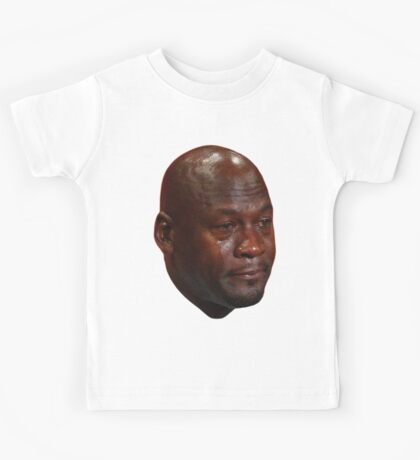 Crying Jordan Kids Tee